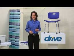 how to use the drive shower chair youtube