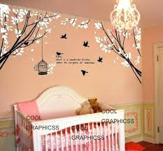 Tree Wall Decor For Nursery Wall Decor Trees Cherry Tree Wall Decal Nursery Wall Decals Trees