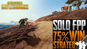 pubg strategy pubg solo fpp 75 win ratio strategy 7 step guide on how to win