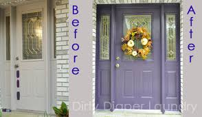 painted front door i like my front doors like i like my movies the color purple