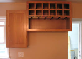 kitchen cabinet with wine glass rack home decor amusing kitchen cabinet wine rack combine with rack