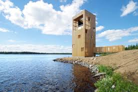 accessible observation tower bird observitory project