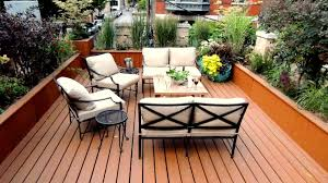 garage rooftop deck roofing decoration