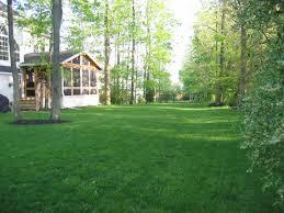 big backyards garden design