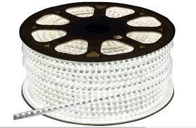 led daylight strip light led strip 5m set waterproof daylight 220v 5050 smd 60 led flexible