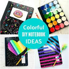 DIY Notebook Ideas Back to School Supplies • Color Made Happy