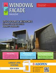 window u0026 facade magazine year end special by f u0026 f media and