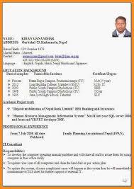 Bio Data Resume 6 How To Make Job Apply Bio Data Villeneuveloubet Hotel Reservation