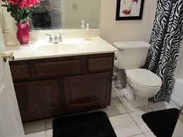 Bathroom Cheap Makeover Small Bathroom Makeover On A Budget E2 80 93 Home Decorating Ideas