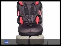 comment attacher un siège auto bébé groupe 1 2 3 de formula baby siège