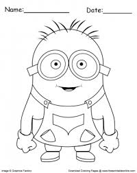 coloring pages com free free minion coloring page printable coloring pages pinterest