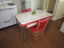 vintage enamel kitchen table vintage kitchen table and chairs design home decorations spots
