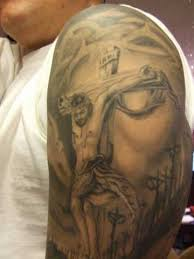 small 50 jesus tattoos for the faith sacrifices and