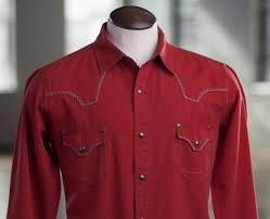 ryan michael men u0027s silk cotton canvas western shirt 4 colors
