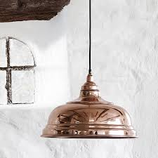large copper pendant light  house junkie with  from housejunkiecouk