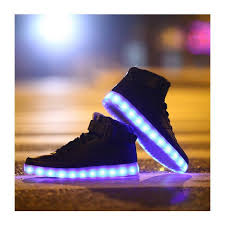 light up high tops nike 10 led shoes that light up at the bottom and change colors like