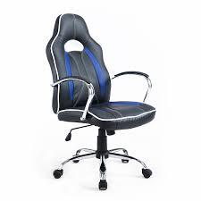 Adjustable Height Desk Chair by Homcom Executive Swivel Race Office Chair Adjustable Height W