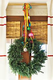 decorative wreaths for the home 100 fresh christmas decorating ideas southern living