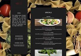 apps for restaurant websites