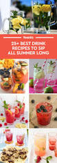 fruity martini recipes 33 best summer drink recipes easy non alcoholic summer drinks