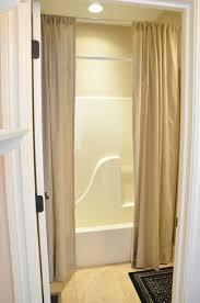 Ideas For Bathroom Curtains Breathtaking Shower Curtain Ideas For Tall Ceilings