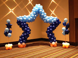 balloon arrangements chicago photo back drop or stage decorations by makinmemories4u