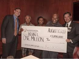 Cincinnati Casino Buffet by Horseshoe Casino Cincinnati Kevin Lewis Wins 1 Million Twice At