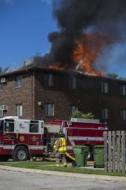 mcfd battles fire at mason city apartment with video and photos