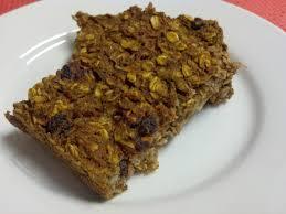 pumpkin carrot cake oatmeal bake clean eating veggie