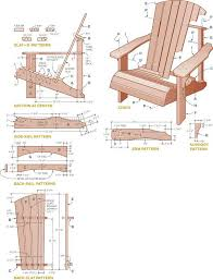 Wood Folding Chair Plans Free by Best 25 Adirondack Chair Plans Ideas On Pinterest Adirondack