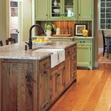 ilot central cuisine bois la cuisine avec îlot central idées de décoration et design