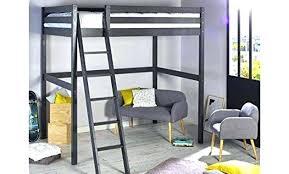 lit mezzanine 1 place avec bureau lit mezzanine en bois lit mezzanine en bois 1 place combine lit
