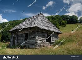 House On Slope Old Wooden Lopsided House On Slope Stock Photo 37639669 Shutterstock