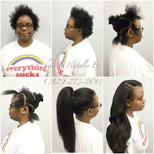 sewing marley hair finally a true versatile sew in that looks like her real hair