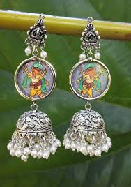 Buy Tribal German Silver Jhumka Jewelry U2013 Tagged