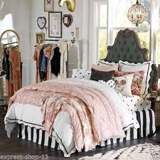 Pottery Barn Comforters Pottery Barn Teen Emily U0026 Merritt Parisian Petticoat Quilt Bed