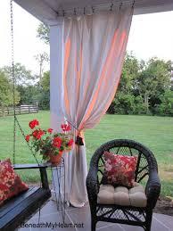 Sunbrella Patio Curtains Outdoor Curtains Porch Curtains Porch Enclosure