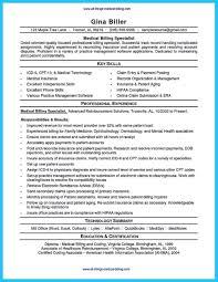 Resume For Medical Billing Medical Billing Resume Examples Top 10