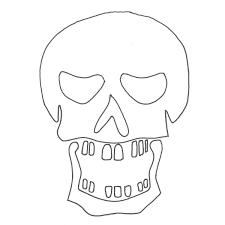 Halloween Skull Drawings Crafty Cranium Halloween Skull T Shirt Ilovetocreate