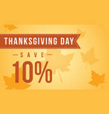 thanksgiving sale vector images 5 500