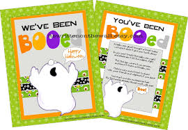 halloween gift ideas for teachers it u0027s written on the wall 16 versions you u0027ve been booed fun