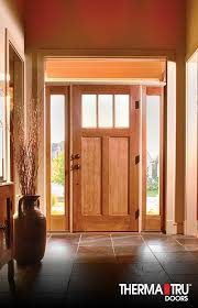 Energy Efficient Exterior Doors Therma Tru Classic Craft American Style Fiberglass Door With