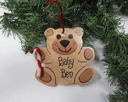teddy ornaments etsy
