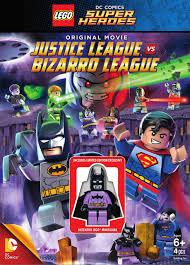 lego dc comics super heroes justice league vs bizarro league dvd