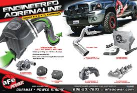 Dodge Ram Cummins Accessories - cummins afe power
