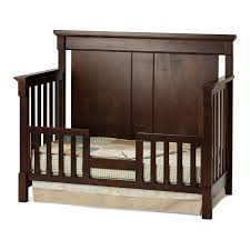Crib Convertible To Toddler Bed Child Craft Bradford 4 In 1 Convertible Crib Cherry Walmart