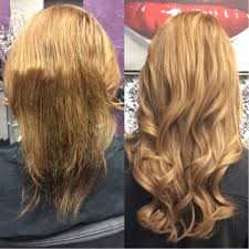 Before After Hair Extensions by Before And After Dream Catchers Micro Link Individual Hair