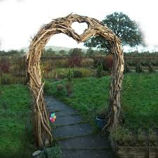wedding arch log wooden wedding arches pictures to pin on thepinsta