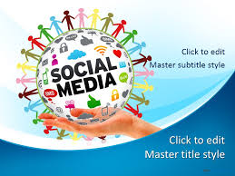 social media powerpoint template free download free social media