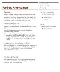color lesson plan housing u0026 interior design lesson plans